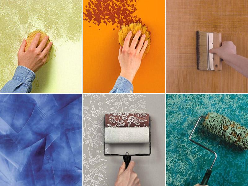 Come pitturare casa: 5 tecniche per tinteggiare fai da te