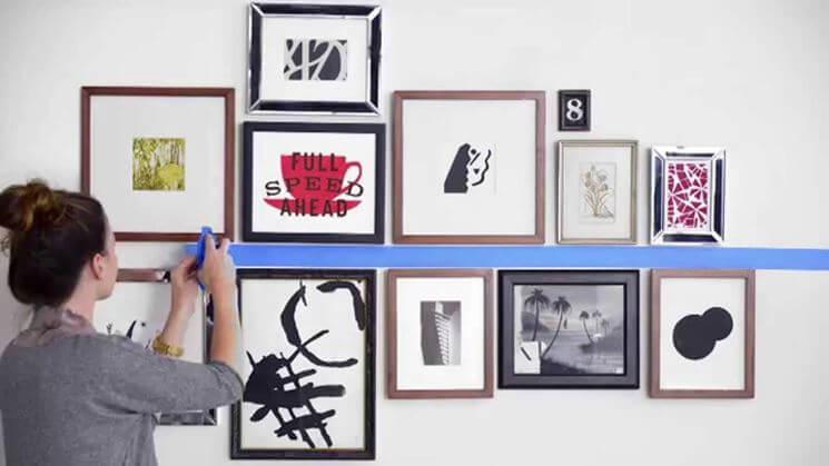 Come fissare i quadri a parete nel modo migliore