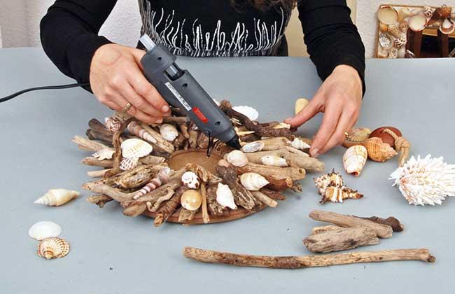 Cornice marinara con conchiglie